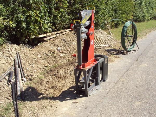 Seilberst X 100 / cable burster X 100© TERRA AG, Reiden, Switzerland