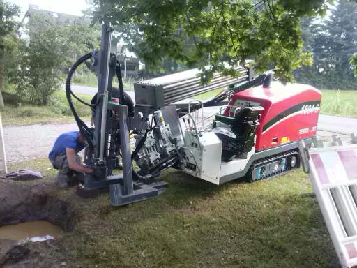 kompakte Spühlbohranlage compact drilling machine © TERRA AG, Reiden, Switzerland