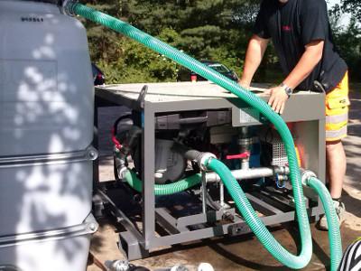 Misch Pumpstation mixing pumping station © TERRA AG, Reiden, Switzerland