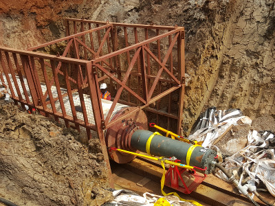 A Kolossus out of Steel – the Steel Pipe Ram TR 565 rams in Uganda, pic 1
