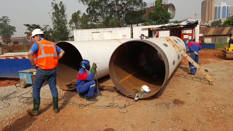 A Kolossus out of Steel – the Steel Pipe Ram TR 565 rams in Uganda, pic 2