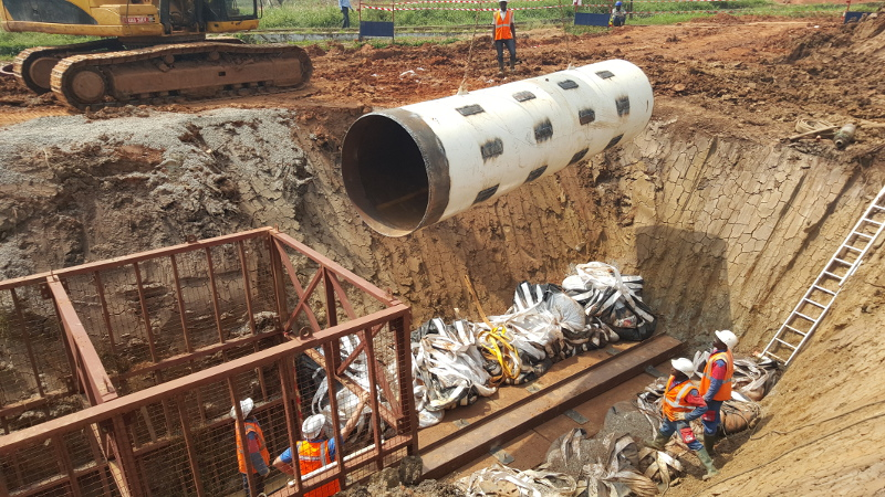 A Kolossus out of Steel – the Steel Pipe Ram TR 565 rams in Uganda, pic 4