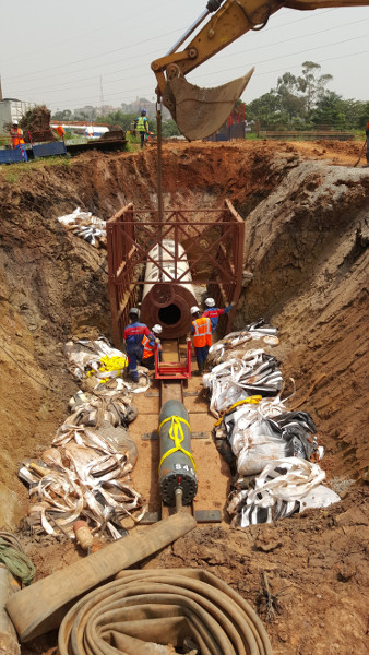 A Kolossus out of Steel – the Steel Pipe Ram TR 565 rams in Uganda, pic 5